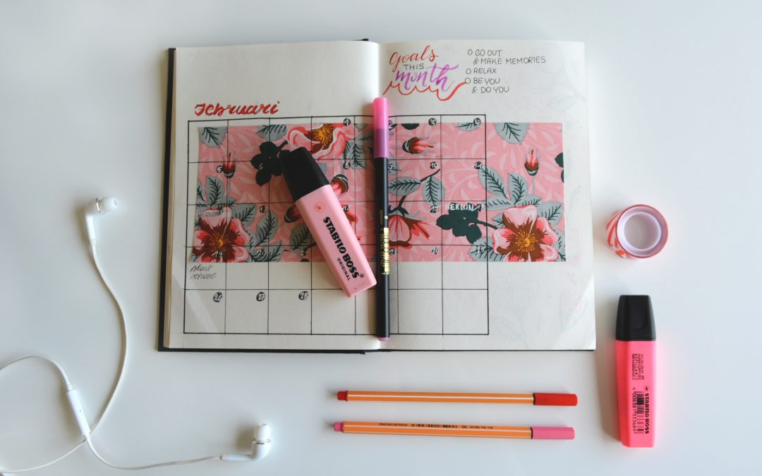 Get Organized With Physical Planners